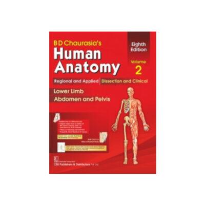 BD Chaurasia's Human Anatomy vol.ume 2 8th edition