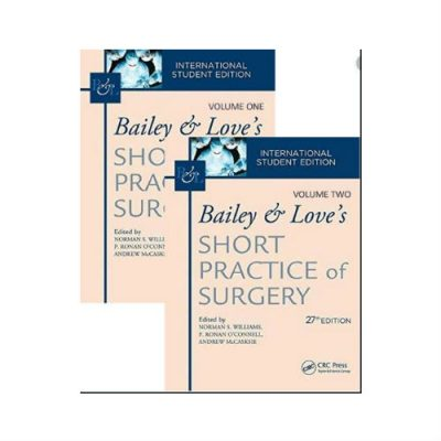 Bailey & Love's Short Practice Of Surgery 27th edition vol 1 & 2