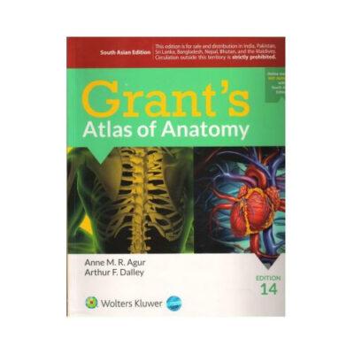 Grant's Atlas Of Anatomy 14th edition