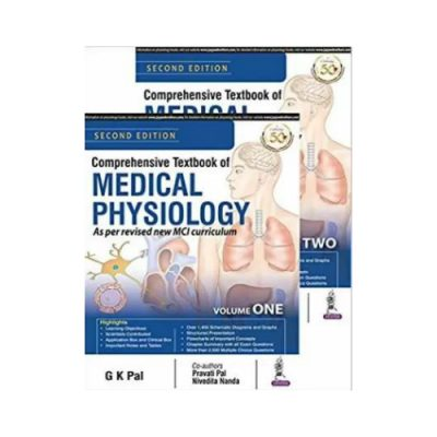 Comprehensive Textbook Of Medical Physiology 2 volume set 2nd edition by G K Pal