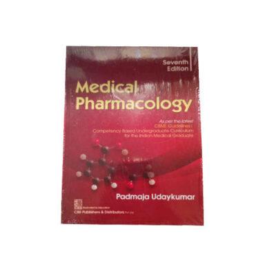 Medical Pharmacology By Padmaja Udaykumar (7th edition 2021)