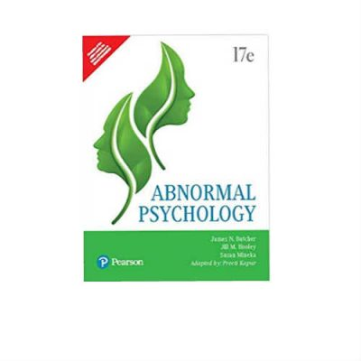 Abnormal Psychology by Pearson 17th Edition by butcher