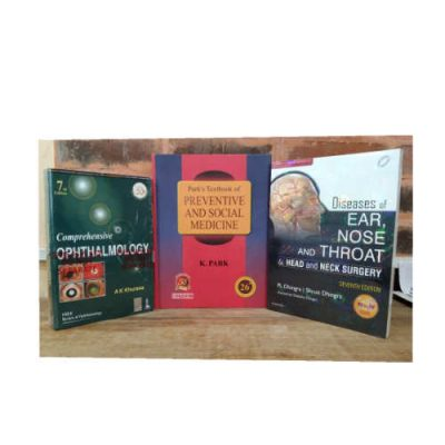 3rd Year MBBS Textbook Combo - I