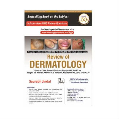 Review Of Dermatology 3rd Edition by Saurabh Jindal