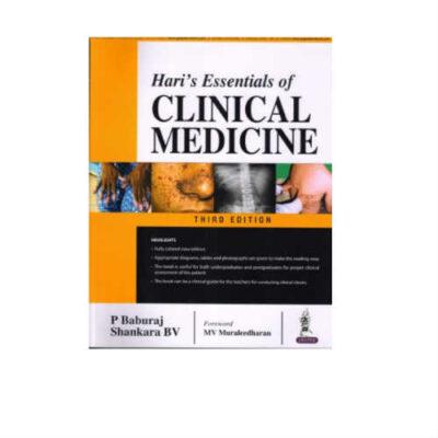 Hari's Essentials Of Clinical Medicine 3rd Edition by P Baburaj