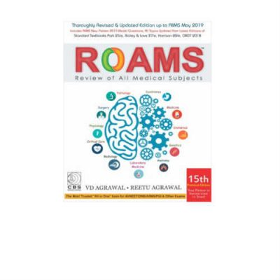 ROAMS Review Of All Medical Subjects 15th Edition by VD Agrawal