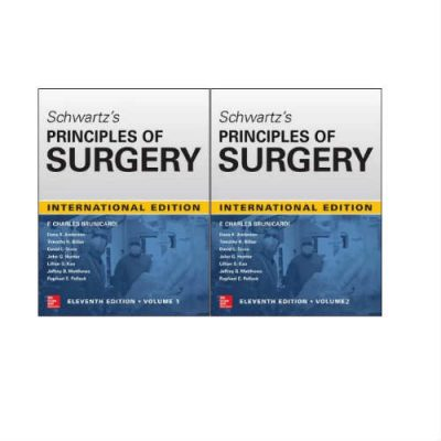 Schwartz's Principles of Surgery 11th Edition 2019 by Brunicardi