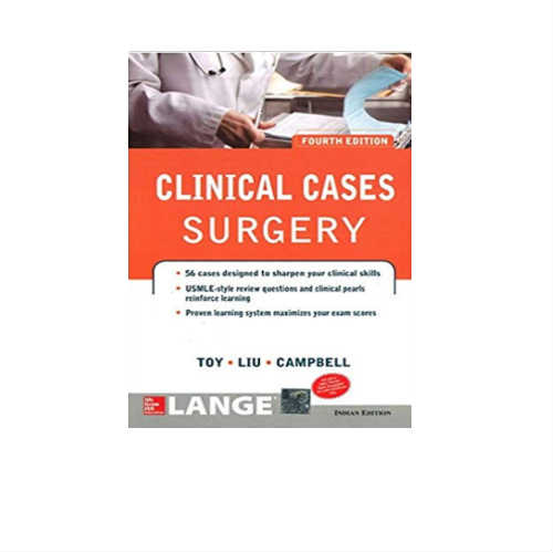 Lange Clinical Cases Surgery By Toy Liu