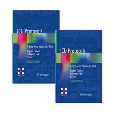 ICU Protocols 2nd/2020 (2 Vols.) by Rajesh Chawla