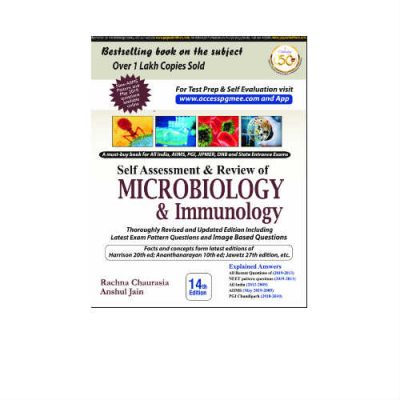 Self Assessment & Review Of Microbiology & Immunology 14th Edition by Rachna Chaurasia