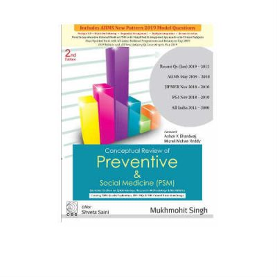 Conceptual Review Of Preventive & Social Medicine (PSM) 2nd Edition by Mukhmohit Singh