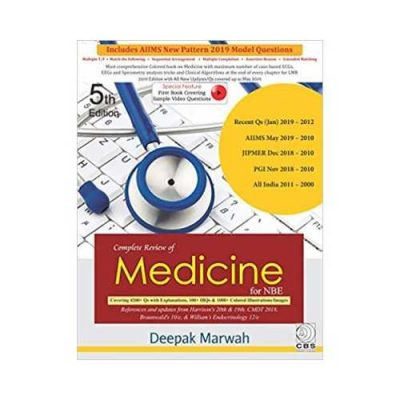 Complete Review Of Medicine For NBE 5th edition by Deepak Marwah