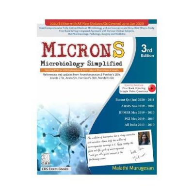 MICRONS Microbiology Simplified 3rd edition by Malathi Murugesan