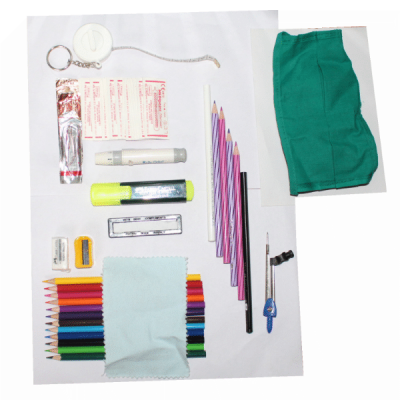 Contents of Anatomy kit for 1st year MBBS & BDS