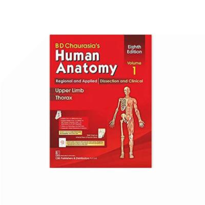 Chaurasia's Human Anatomy 8th/2019 (Vol. 1) by Krishna Garg