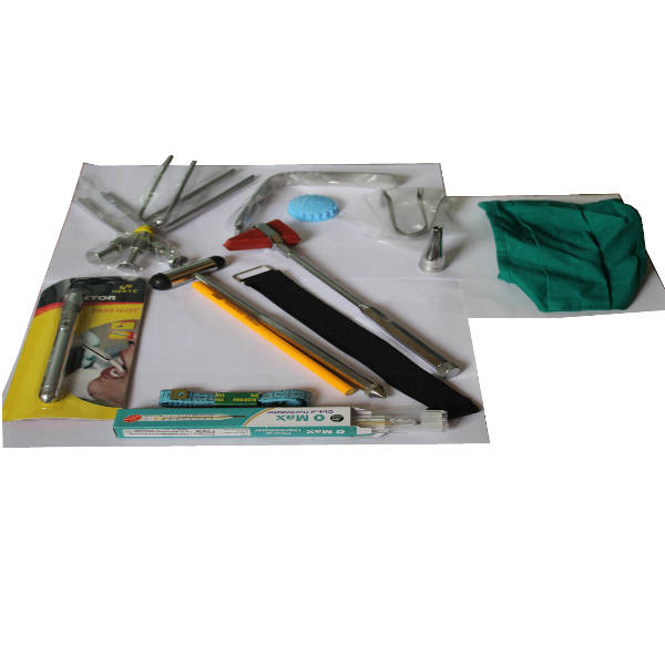 Contents of Prithvi Clinical kit