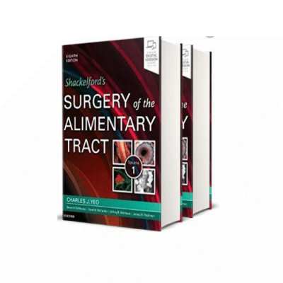Parsian Medical Book Shackelford's Surgery of the Alimentary Tract, 2 Volume Set 8th edition by Charles Yeo