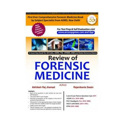Review Of Forensic Medicine 1st edition by Akhilesh Raj Jhamad