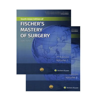 Fischer's Mastery Of Surgery (2 Vols. Set)South Asian Edition 7th edition by Josef E. Fischer