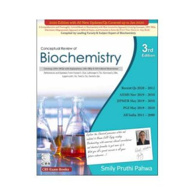 Conceptual Review Of Biochemistry 3rd edition by Smily Pruthi Pahwa