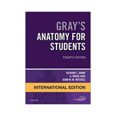 Gray'S Anatomy For Students 2020 International Edition 4th edition by Drake
