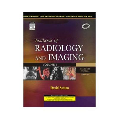 Textbook Of Radiology And Imaging 72009 (2 Vols Set)7th edition by David Sutton