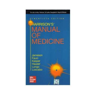 Harrison'S Manual Of Medicine 20th edition by Jameson