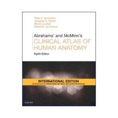 Abrahams' And McMinn'S Clinical Atlas Of Human Anatomy 82019 (IE Edition)8th edition by Peter H Abrahams