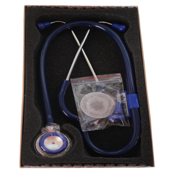 microtone stethoscope blue