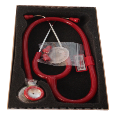 Microtone stethoscope red