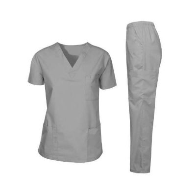 Prithvi's Gray OT dress for doctors and medical students