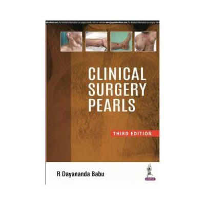Clinical Surgery Pearls 3rd/3rd edition by R Dayananda Babu
