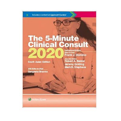 5 Minute Clinical Consult 1st/2020 South Asia Edition