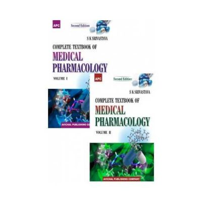 Complete Textbook Of Medical Pharmacology 1st/2017 (2 Vol Set)