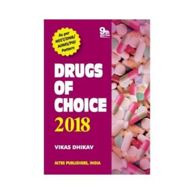 Drugs Of Choice 9th edition by Vikas dhikav