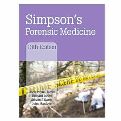Simpson's Forensic Medicine 13th/2011 By Jason Payne-James