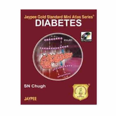 Diabetes Jaypee Gold Standard Mini Atlas Series With Photo Cd-Rom By SN Chugh