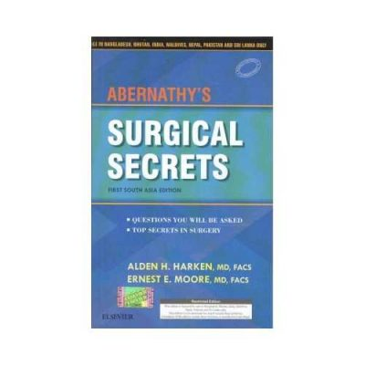Abernathy'S Surgical Secrets 1st SAE/2018South Asian Edition1st edition by Alden H. Harken