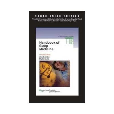 Handbook Of Sleep Medicine 2011South Asian Edition2nd edition by Alon Y. Avidan