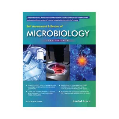 Self Assessment & Review Of Microbiology 13th edition by Arvind Arora