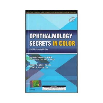 Ophthalmology Secrets In Color 2016South Asian Edition1st edition by Janice A. Gault