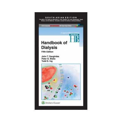 Handbook Of Dialysis 5th edition by John T. Daugirdas