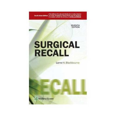 Surgical Recall 7th edition by Lorne H Blackbourne