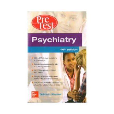 Pretest Psychiatry 14th edition by Debra L Klamen