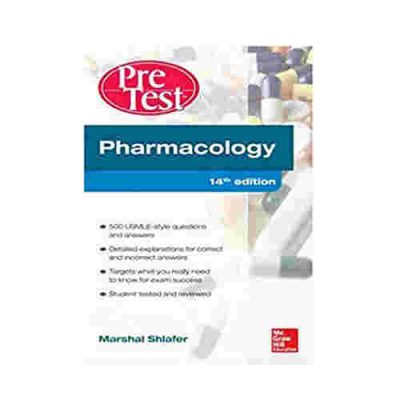 Pertest Pharmacology By Marshal Shlafter
