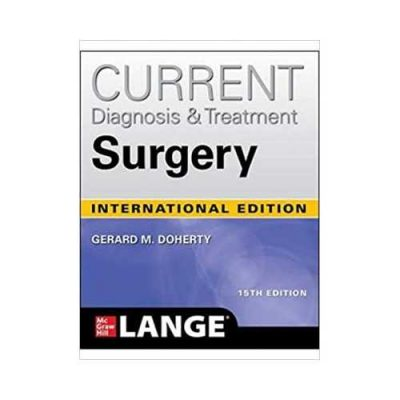 Current Diagnosis And Treatment Surgery 15th edition by Gerard M Doherty